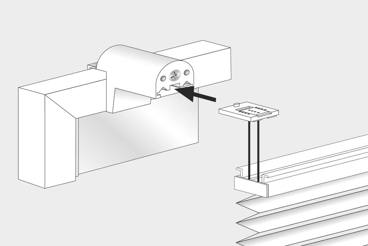 klemmfix plissee montage. Black Bedroom Furniture Sets. Home Design Ideas