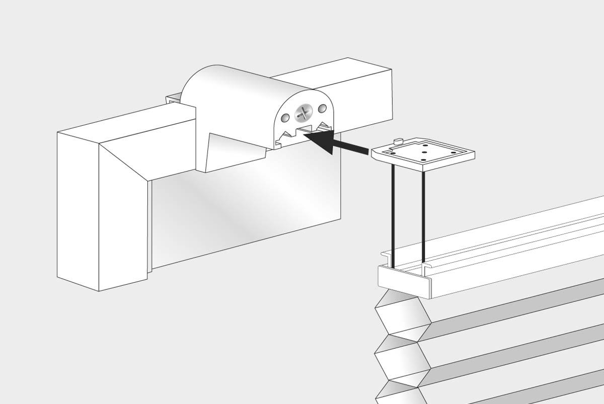 1 2 3 montiert klemmfix thermo plissee verspannt. Black Bedroom Furniture Sets. Home Design Ideas